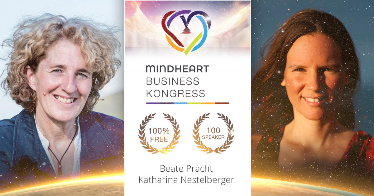 Beate Pracht beim MindHeart Business Kongress 2017